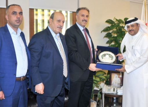 Information Undersecretary receives Palestinian Media General Supervisor