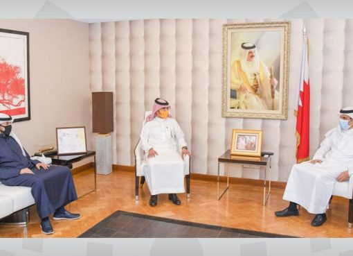 Information Minister receives STC Bahrain Chief Executive