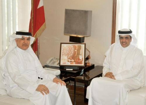 صورة خبر - وزير الإعلام يستقبل السفير البحريني لدى تونس - 8 يوليو 2018