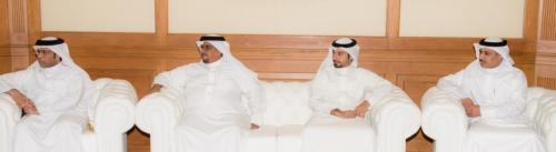 صورة خبر - وزير الإعلام يستقبل الفائزين في المهرجان العربي للإذاعة والتليفزيون - 4